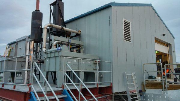 Diesel Power Plant Retrofit